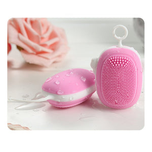 Mini electric silicone beauty cleaning pores to blackhead cleansing instrument