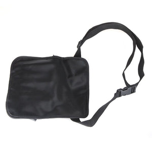 Two Arrays Makeup Brush Apron with Artist Belt Strap PVC Make Up Brush Bag Holder Professional Cosmetic Bags & Cases Black