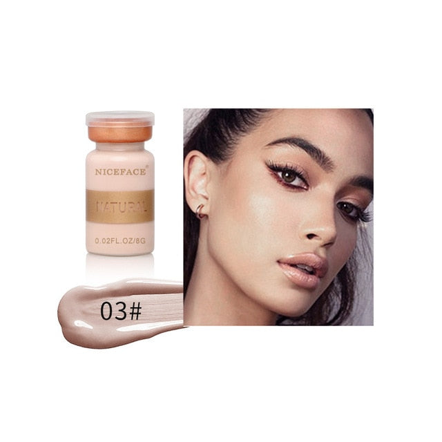 Concealer Cream Full Cover Makeup Liquid Face Foundation Waterproof Eyes Base Make Up Eye Dark Circles Corrector Cosmetics