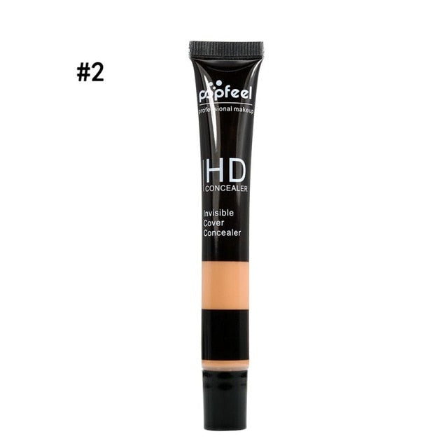Facial Concealer Contour Face Base Foundation High Definition Invisible Cover Cream Beauty Makeup Skin Care Cosmetic 1pc