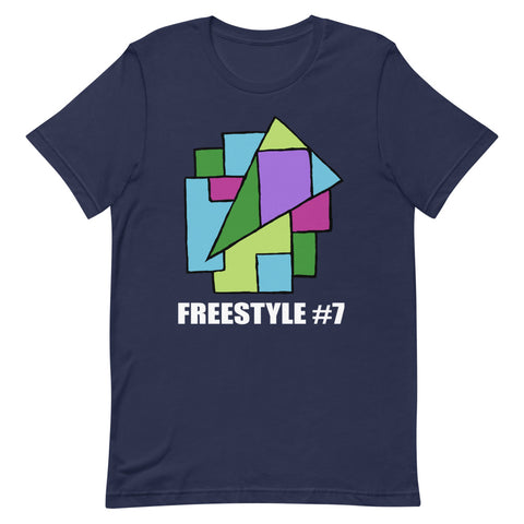 Freestyle #7 Dark - Short-Sleeve Unisex T-Shirt - Funny - Hollyday - Kids