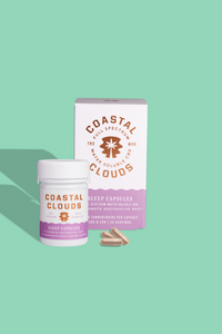 Coastal Clouds Sleep Capsule 30 Count (15MG per Capsule) - Bellacanna