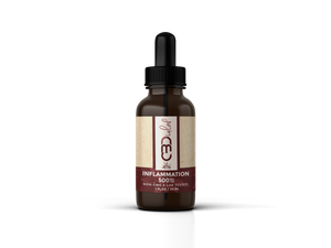 CBDialed Inflammation Tincture 500MG - bellacanna hemp products - best selling cbd brands