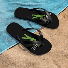 Load image into Gallery viewer, Me before coffee - Unisex Flip-Flops - Caffeination World