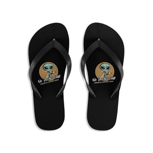 No decaf zone - Unisex Flip-Flops - Caffeination World