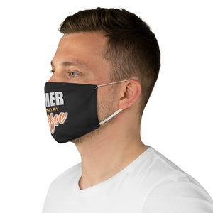 Gamer powered by coffee - Fabric Face Mask - Caffeination World