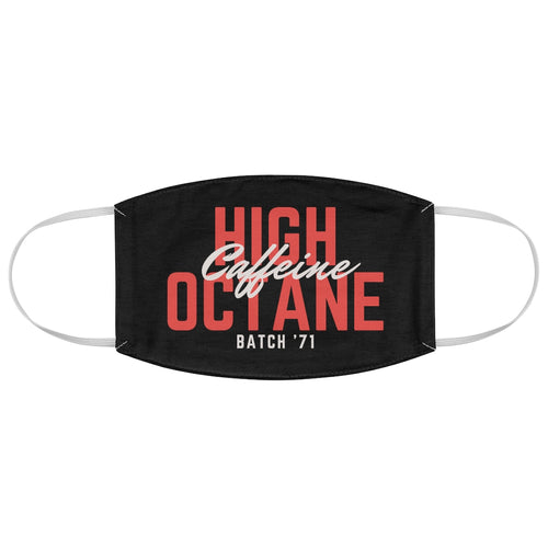 High Octane Caffeine - Fabric Face Mask - Caffeination World