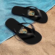 Load image into Gallery viewer, No decaf zone - Unisex Flip-Flops - Caffeination World