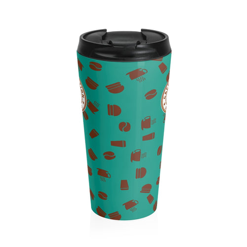 Stainless Steel Travel Mug - Caffeination World