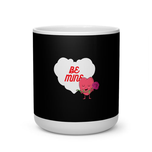 Valentine's: Be mine - Heart Shape Mug - Caffeination World