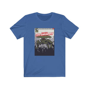 Book Cover: Voyagers From The Unknown - Classic Tee - Caffeination World