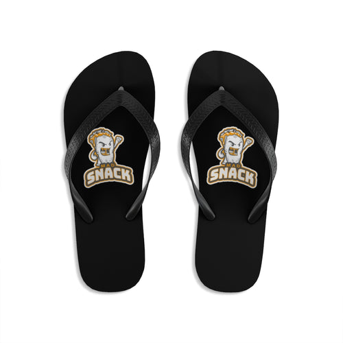 Mad Snack - Unisex Flip-Flops - Caffeination World