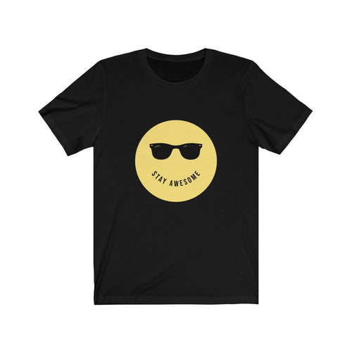 Stay Awesome - Classic Tee - Caffeination World