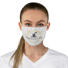 Load image into Gallery viewer, Happiness in a mug - Fabric Face Mask - Caffeination World