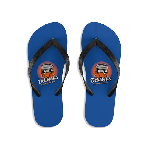 Delicious - Unisex Flip-Flops - Caffeination World