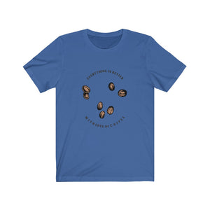 Everything is better with lots of coffee - Classic Tee - Caffeination World