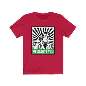 Doctors: We salute you - Classic Tee - Caffeination World