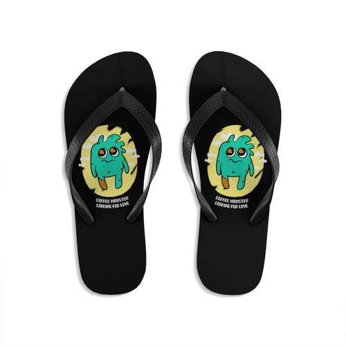 Coffee Monster - Unisex Flip-Flops - Caffeination World
