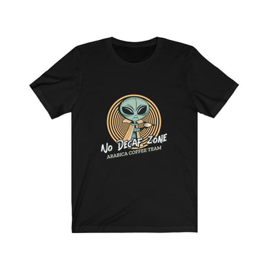 No Decaf Zone - Classic Tee - Caffeination World