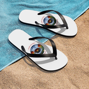 I need my coffee - Unisex Flip-Flops - Caffeination World