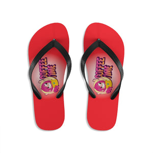 Coffee time - Unisex Flip-Flops - Caffeination World
