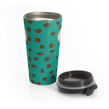 Load image into Gallery viewer, Stainless Steel Travel Mug - Caffeination World
