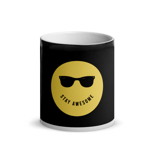 Stay Awesome - Magic Mug 11 oz - Caffeination World