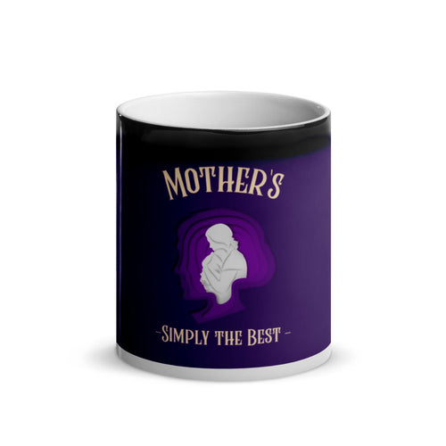 Mother is simply the best - Magic Mug 11 oz - Caffeination World
