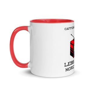 Premium Mug - Less drama, more coffee - Caffeination World