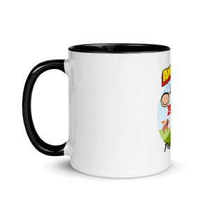 Premium Mug - Awesome people love pets and coffee - Caffeination World