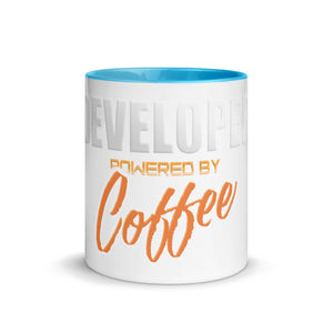 Premium Mug - Developer powered by coffee - Caffeination World
