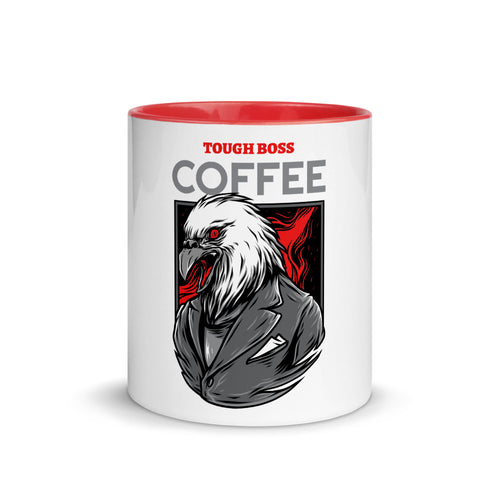 Premium Mug - Tough boss coffee - Caffeination World