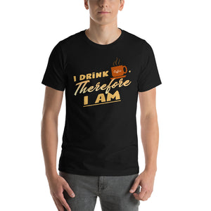 I drink coffee, therefore I am - Premium Tee - Caffeination World
