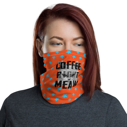 Neck Gaiter | Coffee right meaw - Caffeination World