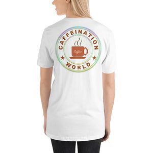 Mom powered by coffee - Premium Tee - Caffeination World