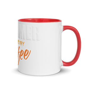 Premium Mug - Streamer powered by coffee - Caffeination World