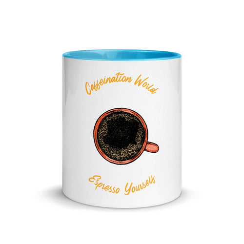 Premium Mug - Espresso yourself - Caffeination World