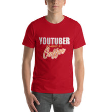 Load image into Gallery viewer, YouTuber - Premium Tee - Caffeination World