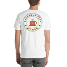 Load image into Gallery viewer, Dad powered by coffee - Premium Tee - Caffeination World