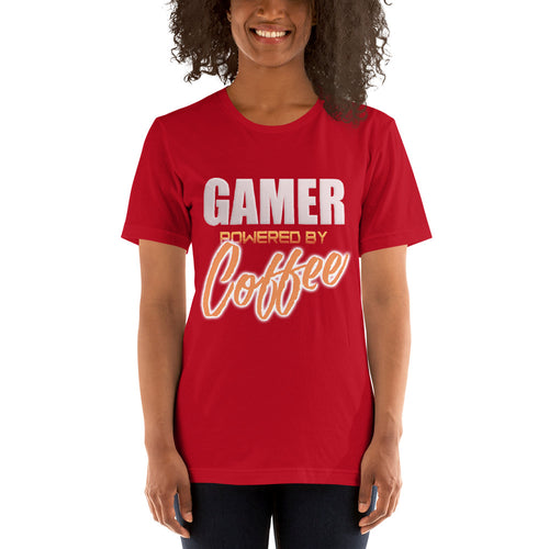 Gamer powered by coffee - Premium Tee - Caffeination World