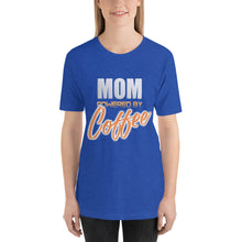 Load image into Gallery viewer, Mom powered by coffee - Premium Tee - Caffeination World