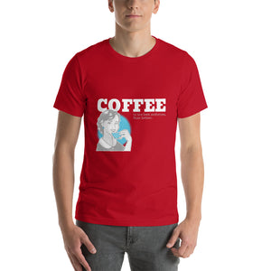 Coffee is the best medicine - Premium Tee - Caffeination World