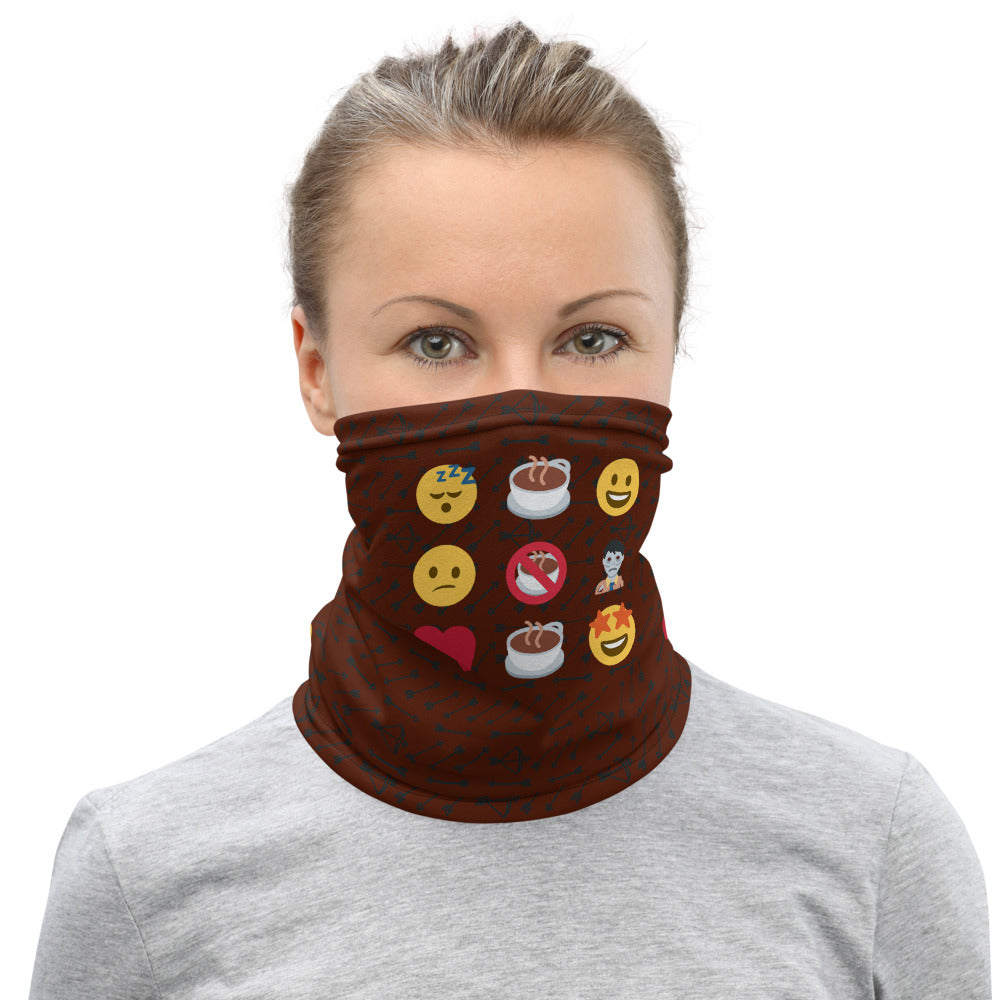Neck Gaiter | Emojis - Caffeination World