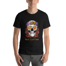 Load image into Gallery viewer, Hot coffee - Premium Tee - Caffeination World