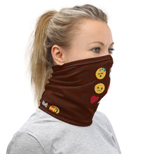 Load image into Gallery viewer, Neck Gaiter | Emojis - Caffeination World