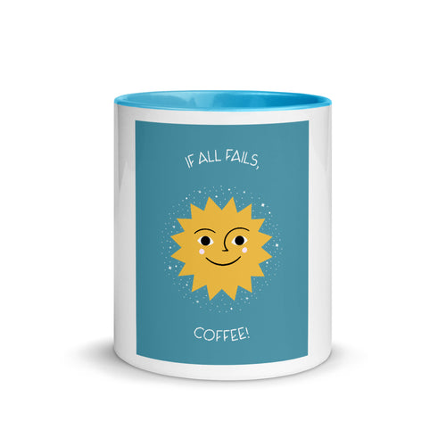 Premium Mug - If all fails, coffee! - Caffeination World