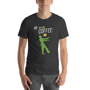 Me before coffee: zombie - Premium Tee - Caffeination World