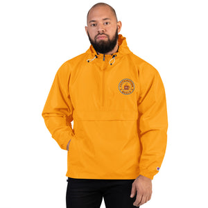 Embroidered Champion Packable Jacket - Caffeination World