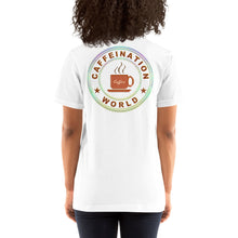 Load image into Gallery viewer, Gamer powered by coffee - Premium Tee - Caffeination World