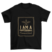 Load image into Gallery viewer, Professional coffee connoisseur - Classic Tee - Caffeination World